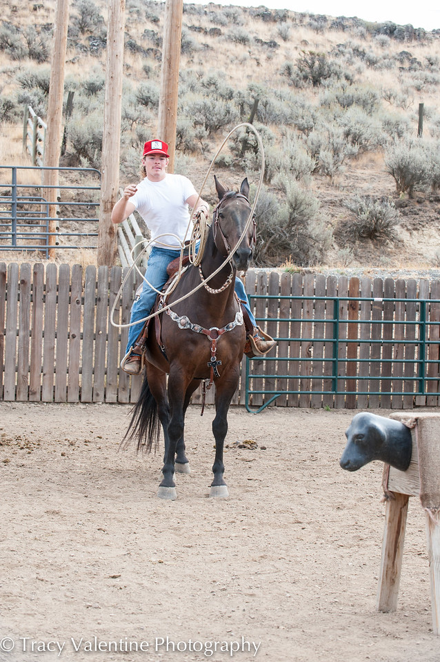 Joel Penfold Ranch Roping